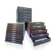 Schubladenbox Varicolor 10 Schübe 292x356x280mm grau Durable 7610-27 Produktbild Additional View 2 S