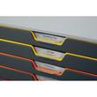 Schubladenbox Varicolor 10 Schübe 292x356x280mm grau Durable 7610-27 Produktbild Additional View 3 S