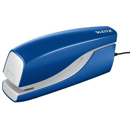 Elektroheftgerät NeXXt 5532 bis 10Blatt für No.10+E1 blau Leitz 5532-00-35 Produktbild