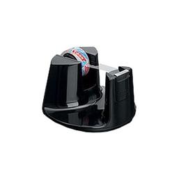 Tischabroller Easy Cut Compact incl. 1Rolle befüllbar bis 19mm x 33m schwarz Tesa 53827-00000-00 Produktbild
