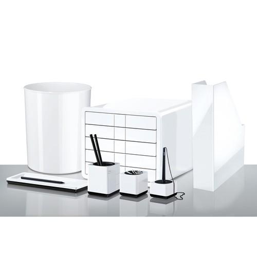 Klammernspender i-Line weiß Kunststoff HAN 17652-32 Produktbild Additional View 1 L