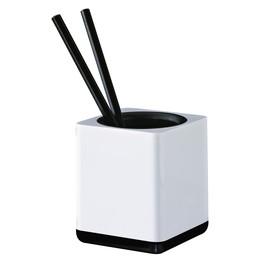 Stifteköcher i-Line weiß Kunststoff HAN 17653-32 Produktbild