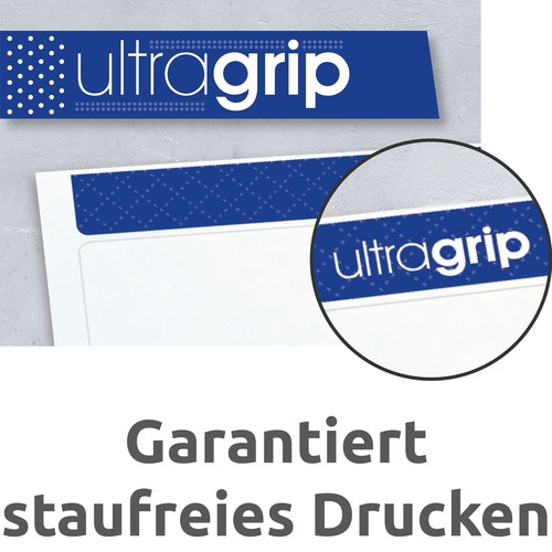 Rückenschilder zum Bedrucken 61x192mm kurz breit auf A4 Bögen recycling weiß selbstklebend Zweckform LR4761-25 (PACK=120 STÜCK) Produktbild Default L