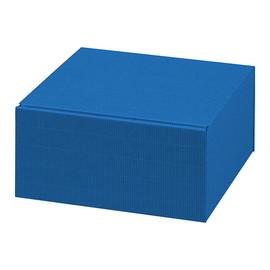 Geschenkverpackung Allround blau 250 x 250 x 120mm Famulus 200203 Produktbild