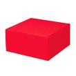 Geschenkverpackung Allround rot 250 x 250 x 120mm Famulus 200204 Produktbild