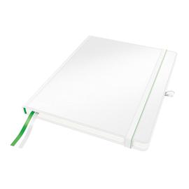 Notizbuch Complete Hardcover kariert 80Blatt iPad Format weiß Leitz 4473-00-01 Produktbild