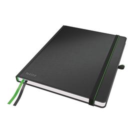 Notizbuch Complete Hardcover kariert 80Blatt iPad Format schwarz Leitz 4473-00-95 Produktbild
