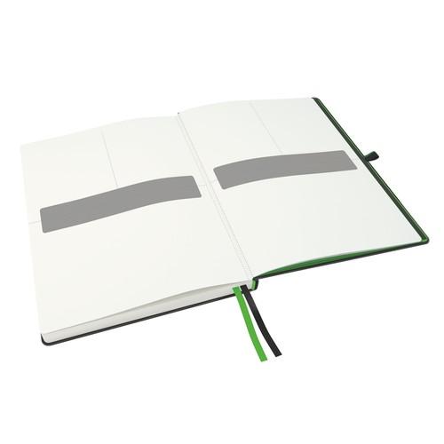 Notizbuch Complete Hardcover liniert 80Blatt iPad Format schwarz Leitz 4474-00-95 Produktbild Additional View 1 L
