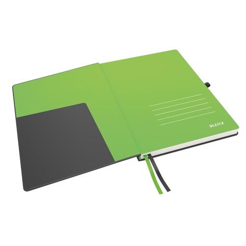 Notizbuch Complete Hardcover liniert 80Blatt iPad Format schwarz Leitz 4474-00-95 Produktbild Additional View 2 L