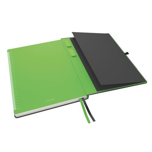 Notizbuch Complete Hardcover liniert 80Blatt iPad Format schwarz Leitz 4474-00-95 Produktbild Additional View 3 L