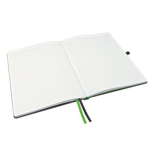 Notizbuch Complete Hardcover liniert 80Blatt iPad Format schwarz Leitz 4474-00-95 Produktbild Additional View 8 L
