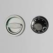 Zahlenschloss mechanisch mit Klappgriff vorstehend Format La Gard 3330 Produktbild