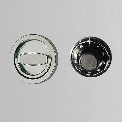 Zahlenschloss mechanisch mit Klappgriff vorstehend Format La Gard 3330 Produktbild Front View L