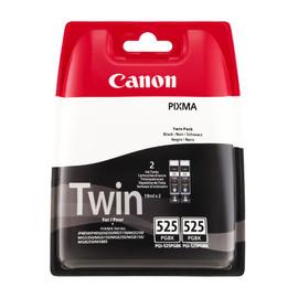 Druckkopfpatrone Doppelpack PGI-525PGBK MG5150 2x19ml schwarz Canon 4529b010 (PACK=2 STÜCK) Produktbild