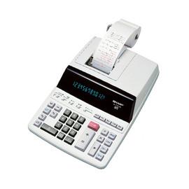 Tischrechner 12-stelliges Display 221x327x78mm zweifarbiger Druck Netzbetrieb Sharp EL2607 PGGYSE Produktbild