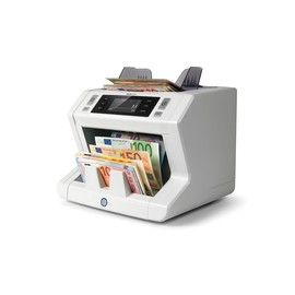 Banknotenzähler automatisch mit 7-facher Falschgelderkennung Safescan 2665-S Produktbild