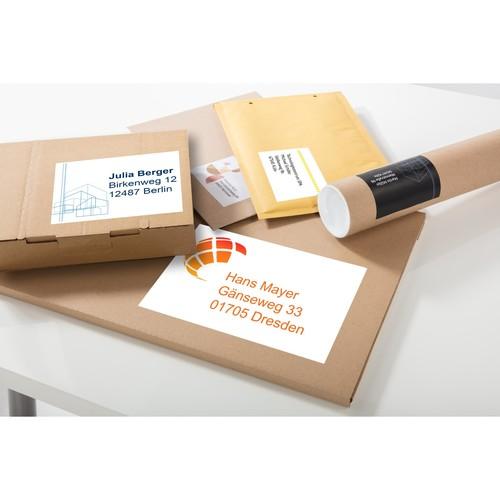 Etiketten Inkjet+Laser+Kopier 97x67,7mm auf A4 Bögen weiß Zweckform 3660-200 (PACK=1760 STÜCK) Produktbild Additional View 5 L