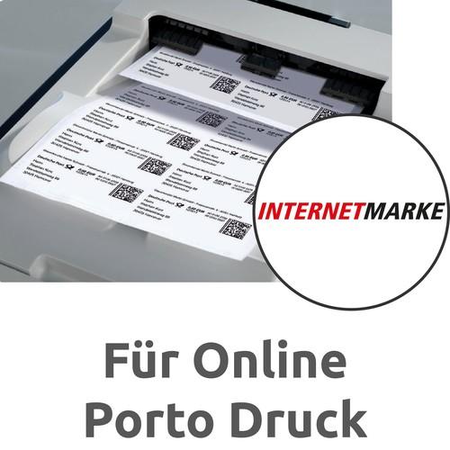 Etiketten Inkjet+Laser+Kopier 105x48mm auf A4 Bögen weiß Zweckform 3424-200 (PACK=2640 STÜCK) Produktbild Additional View 7 L