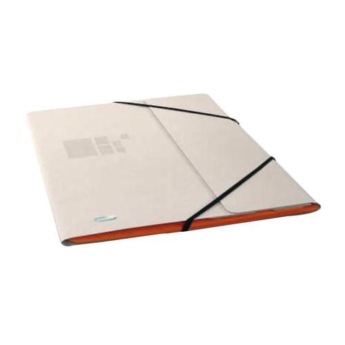 Ordnungsmappe Business mit Gummizug A4 mit 12 Fächern sand Karton Elba 400020819 Produktbild Front View L
