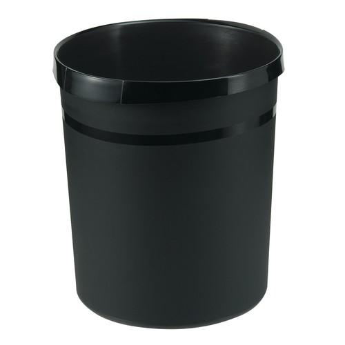 Papierkorb GRIP KARMA 18l öko-schwarz HAN 18198-13 Produktbild