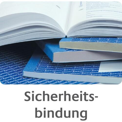 Bonbuch 1000 Abrisse A4 2x50Blatt gelb Zweckform 842 Produktbild Additional View 3 L