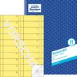 Bonbuch 1000 Abrisse A4 2x50Blatt gelb Zweckform 842 Produktbild