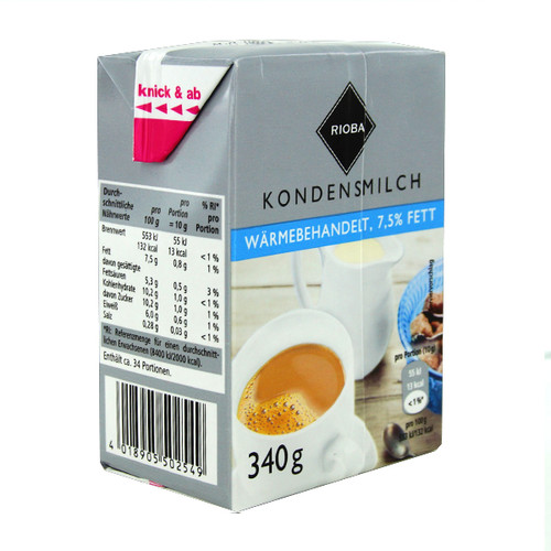 Kaffeesahne 7,5% Fett Tetra Pack (ST=340 MILLILITER) Produktbild Additional View 1 L