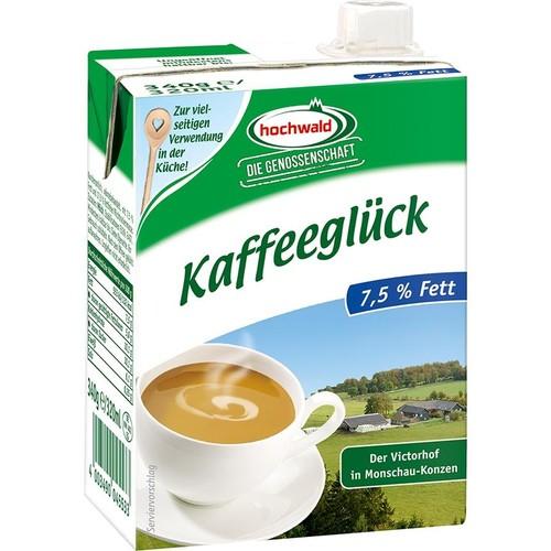 Kaffeesahne 7,5% Fett Tetra Pack (ST=340 MILLILITER) Produktbild Additional View 2 L