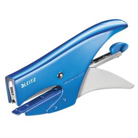Heftzange WOW bis 15Blatt Hinterlademechanik blau metallic Leitz 5531-20-36 -Blisterpackung- Produktbild