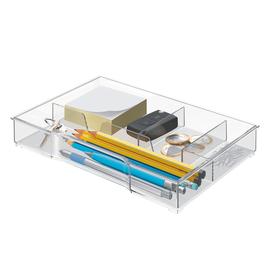Schubladeneinsatz für Plus, WOW CUBE und CUBE Schubladenboxen glasklar Leitz 5215-00-02 Produktbild