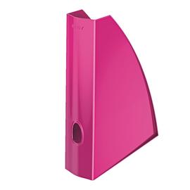Stehsammler WOW 75x312x258mm pink metallic Kunststoff Leitz 5277-10-23 Produktbild