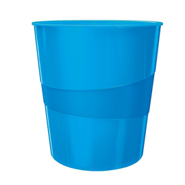 Papierkorb WOW 15l blau metallic  Leitz 5278-10-36 Produktbild