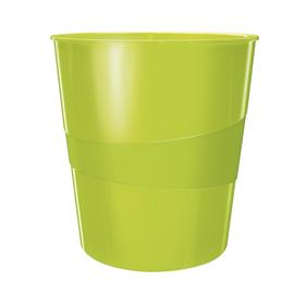Papierkorb WOW 15l grün metallic Leitz 5278-10-64 Produktbild