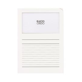 Sichtmappe Ordo 220x310mm Papier weiß mit Sichtfenster Elco 29489.10 Produktbild