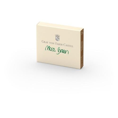 Tintenpatrone GvFC für Füllhalter moosgrün Faber Castell 141104 (ETUI=6 STÜCK) Produktbild Front View L