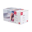 Briefumschlag ohne Fenster DIN lang 114x229mm mit Haftklebung 80g weiß ELCO 74532.12 (PACK=200 STÜCK) Produktbild