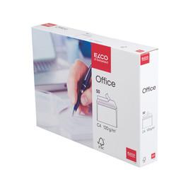 Briefumschlag ohne Fenster C4 229x324mm mit Haftklebung 120g weiß ELCO 74538.12 (PACK=50 STÜCK) Produktbild