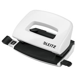 Locher Mini NeXXt 5060 WOW bis 10Blatt weiß metallic Leitz 5060-10-01 Produktbild
