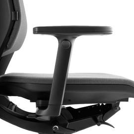 Armlehne höhenverstellbar schwarz für Bürodrehstuhl Serie Mera Klöber Produktbild