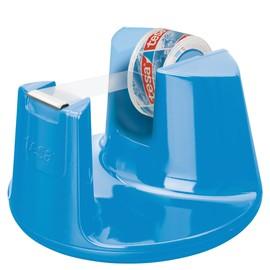 Tischabroller Easy Cut Compact incl. 1Rolle befüllbar bis 19mm x 33m blau Tesa 53825-00000-01 Produktbild