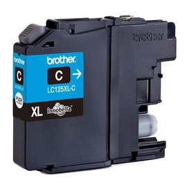 Tintenpatrone für DCP-J4110/MFC-J4410DW 15ml cyan Brother LC-125XLC Produktbild