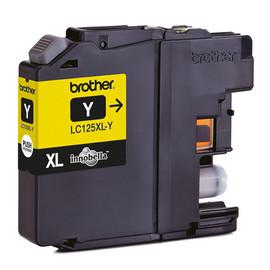 Tintenpatrone für DCP-J4110/MFC-J4410DW 15ml yellow Brother LC-125XLY Produktbild