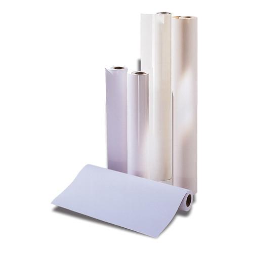Großflächenkopierpapier 29,7cm x 175m 75g hochweiß holzfrei 93958R29-175 (PACK=2 ROLLEN à 175 METER) Produktbild Front View L