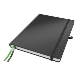 Notizbuch Complete Hardcover kariert 80Blatt A4 schwarz Leitz 4471-00-95 Produktbild