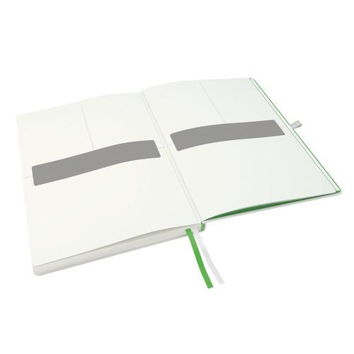 Notizbuch Complete Hardcover liniert 80Blatt A4 weiß Leitz 4472-00-01 Produktbild Additional View 1 L