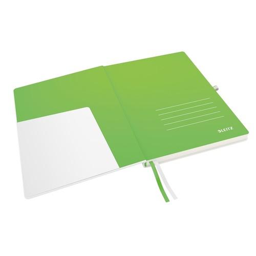 Notizbuch Complete Hardcover liniert 80Blatt A4 weiß Leitz 4472-00-01 Produktbild Additional View 2 L