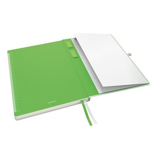 Notizbuch Complete Hardcover liniert 80Blatt A4 weiß Leitz 4472-00-01 Produktbild Additional View 3 L
