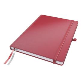 Notizbuch Complete Hardcover liniert 80Blatt A4 rot Leitz 4472-00-25 Produktbild