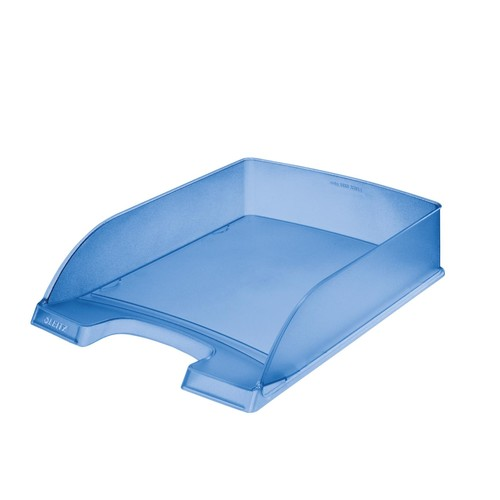 Briefkorb Standard für A4 242x63x340mm blau frost Kunststoff Leitz 5227-00-34 Produktbild