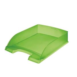 Briefkorb Standard für A4 242x63x340mm grün frost Kunststoff Leitz 5227-00-56 Produktbild